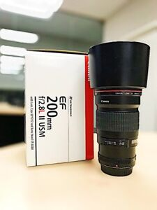 Canon 200mm f2.8L version 2