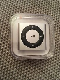 Brand new sealed silver iPod shuffle 2gb