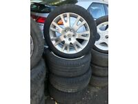 RENAULT 17 INCH ALLOY WHEELS 225/45R17