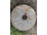 Antique Granite Mill Stone - Excellent Condition
