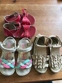 Lovely little sandals sized 8