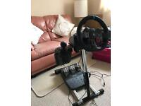Logitec G29 Steering Wheel with Stand for PlayStation 4