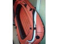 Big rubber dinghy