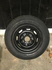 Spare wheel or main steel wheel