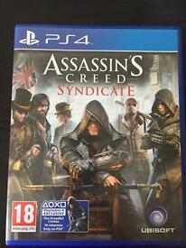 ASSASSIN'S CREED SYNDICATE PS4 - LIKE NEW