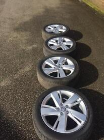Astra 2013 alloy wheels