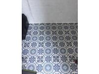 Vinyl floor off cut