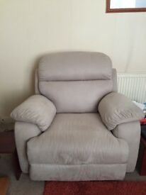 Beautiful sofa and two electric recliner armchairs