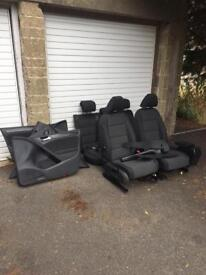 Vw golf MK6 5 door cloth seats 2009-2012 ( Grey )