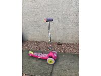 Scooter - Minnie Mouse 3 wheels. £10