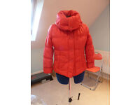 Red padded jacket, light weight
