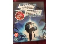 Starship Troopers Trilogy Bluray