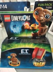 Lego Dimensions ET Set Unopened