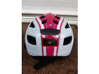 Cycle Helmet With Built In Lights Size S/M 54 To 59 cms