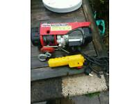 250kg electric winch