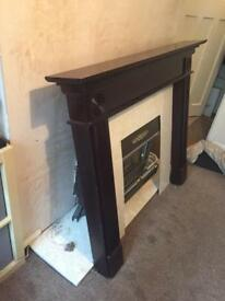 Fire surround/ mantelpiece