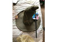 brand new Harry Potter hat and wand £5 for set