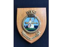 Ships plaque - HMS EXCELLENT