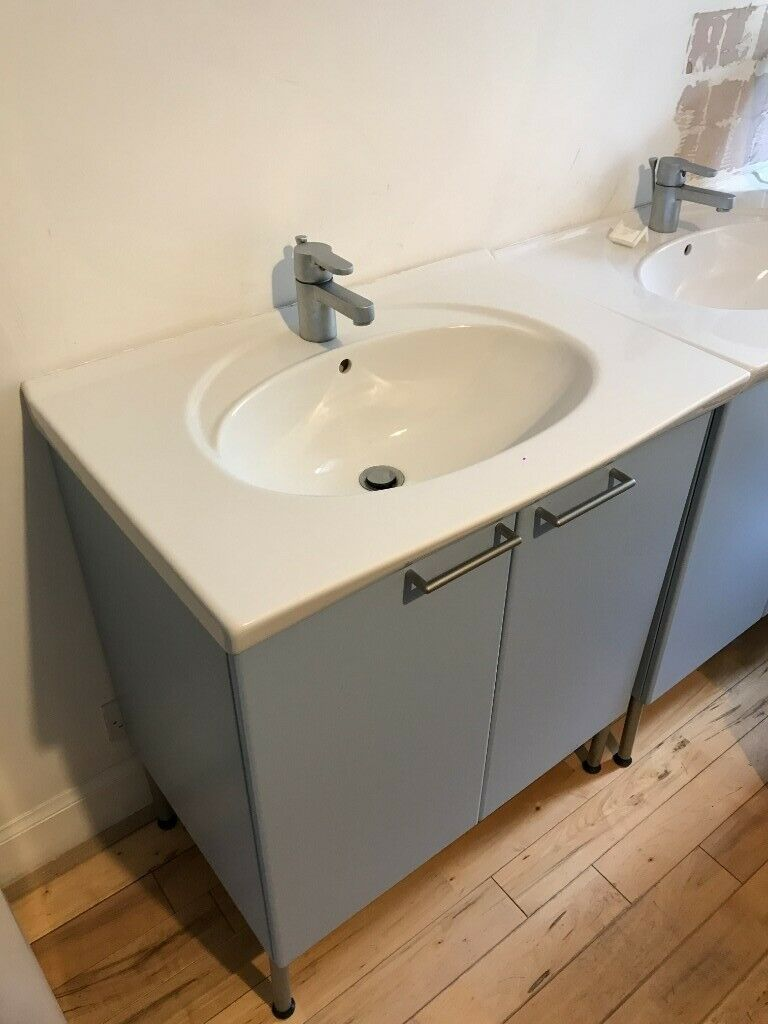 Excellent condition IKEA bathroom sink and cabinet | in ...