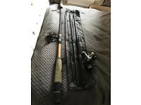 X2 rods / reels