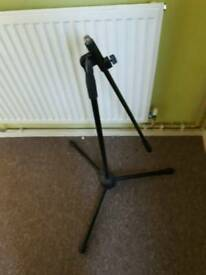 Boom mic stands short and standard