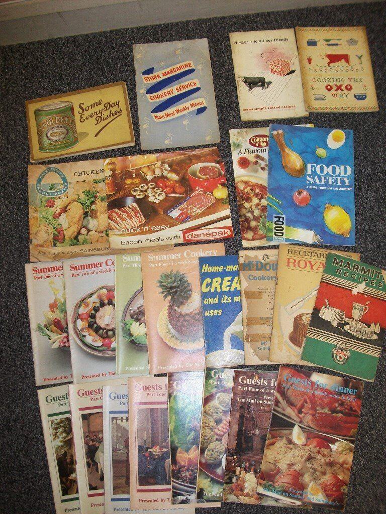 Vintage Cookery Magazines/Books