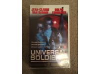 Universal Solider Big Box Ex Rental VHS Video