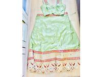 Chanya choli mint green