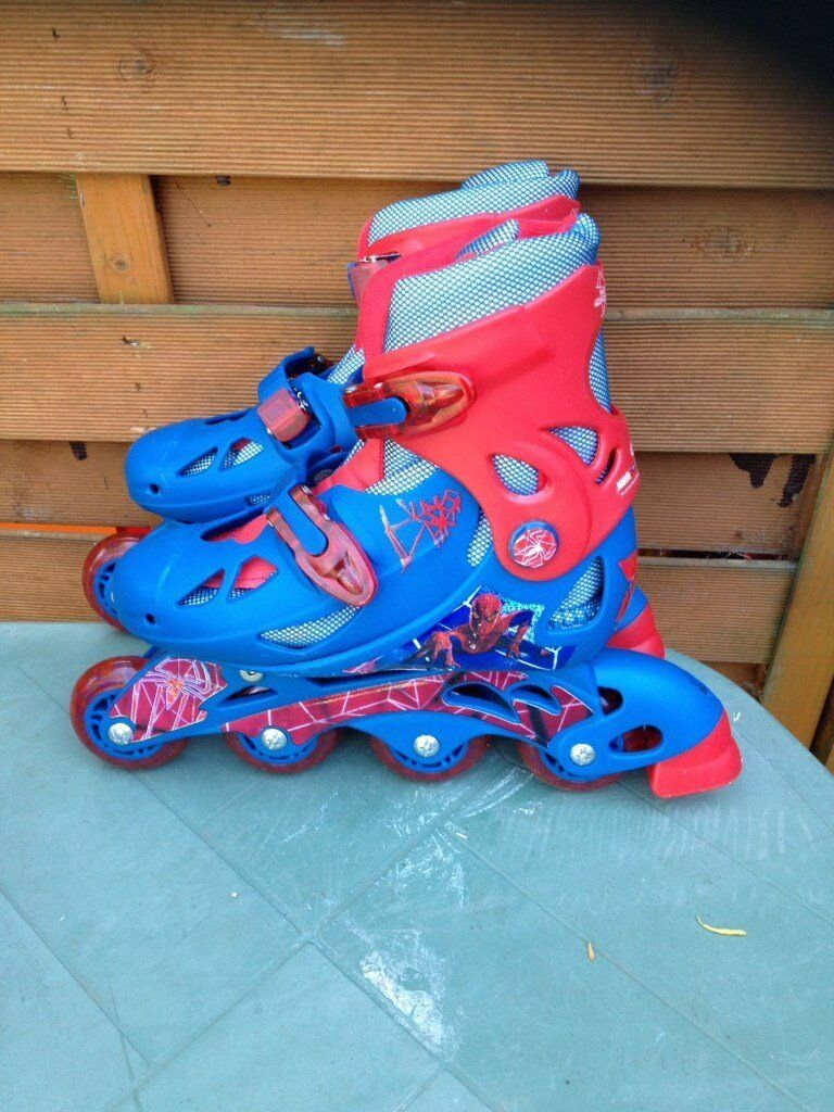 Kids inline skatesprotector bag elbow and knee padsin Croydon, LondonGumtree - Kids inline skates & protector bag elbow and knee pads Size 1 4 Pick up in the mitcham area only Cash only