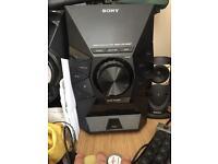 Sony home audio system mhc-ec619ip