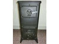 wood/log burner, gypsy stove