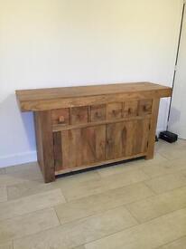 Beautiful mango wood sideboard - new reduced price