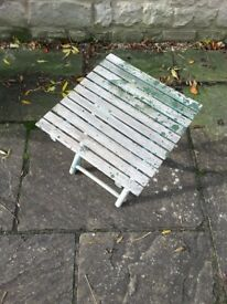 Folding Table for the Garden/Conservatory