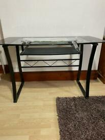 Glass Top / metal frame desk