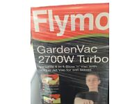 FLYMO garden vac/blower 2700 turbo