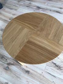 Circular IKEA Coffe Table