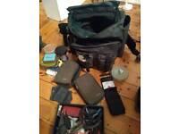 Dragon Fishing Bag and Tackle