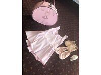 Girls ballet clothes/bag/pumps