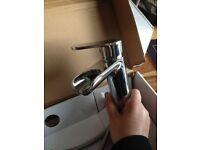 Bathroom Sink mixer tap and Bath mixer tap