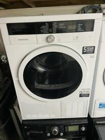 Grundig condenser dryer in white 7kg