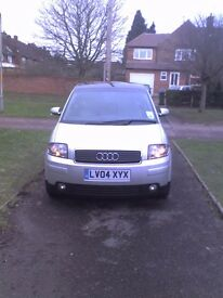 Audi A2 2004 1.4 petrol MOT TILL DEC 2017! CAM BELT Replaced in November 2016