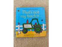 That's not my tractor boom £2.50