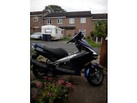 peugeot 125 cc liquid cooled motorbike 600 ono good condition.