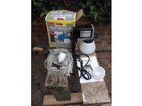 Earlex Super Sprayer 85, airless electric spraygun kit for fence and house painting - unused