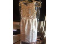 Aged 13 John rocha gold sequin bridesmaid dress rrp £50