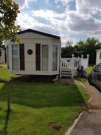 SKIPSEA SANDS 2 BEDROOM 6 BERTH GOLD STANDARD CARAVAN TO LET
