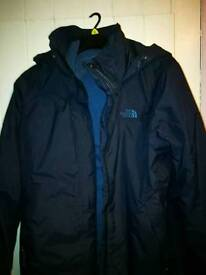 New North face unisex Jacket blue
