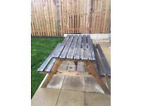 Garden 4 seater bench