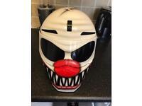 Custom one off air brushed motorbike motorcycle helmet medium