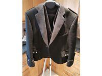 Argyll mens kilt jacket and waistcoat